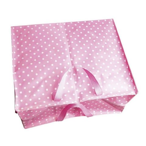 Large Girls Light Baby Pink Bedroom Storage Bags